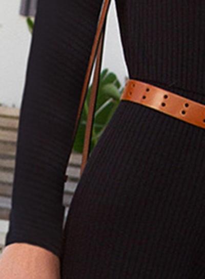51bc4fa3e033 Long Sleeve Open Frent Capri Jumpsuit - STYLESIMO.com