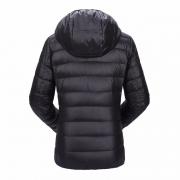 Lightweight Water-Resistant Packable Hooded Down Jacket