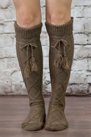 Tie Boot Socks