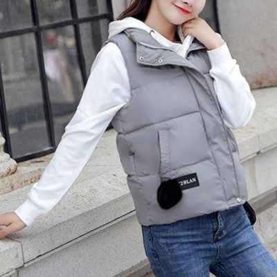Cotton& Duck Down Soft Waistcoat Warm Vests