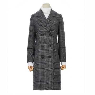 Intarsia Knits And Tweed Duffle Coat