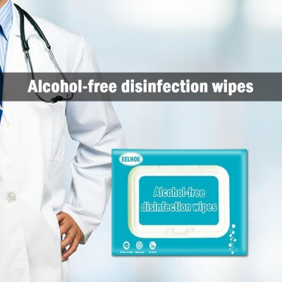 80 sterilized disposable hand clean antibacterial wipes