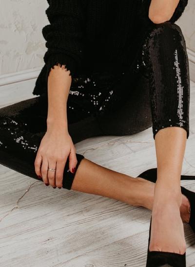 Slim Classic fashion sequin leggings