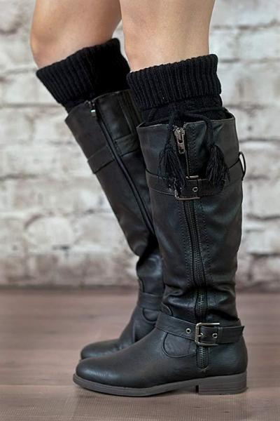 Tie Boot Socks stylesimo.com