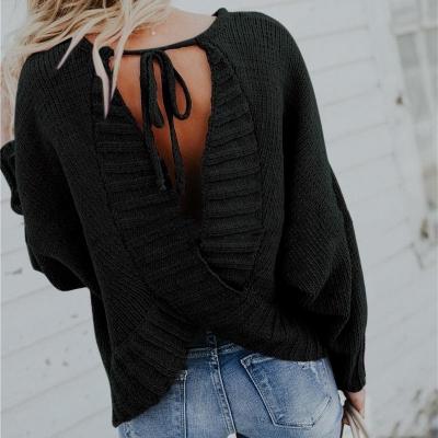 Back Cross Sweater