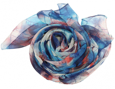 Lucky Leaf Women Lightweight Cozy Infinity Loop Scarf with Various Artist Print stylesimo.com
