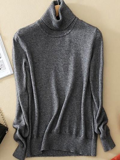 Wool Pure Cashmere Sweater stylesimo.com