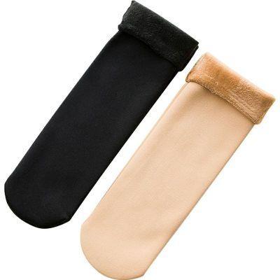Winter Warmer Women Thicken Thermal Wool Cashmere Snow Socks stylesimo.com